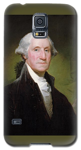 George Washington Portrait Galaxy S5 Case by Gilbert Stuart