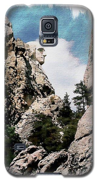 George Washington Profile - Mount Rushmore Galaxy S5 Case