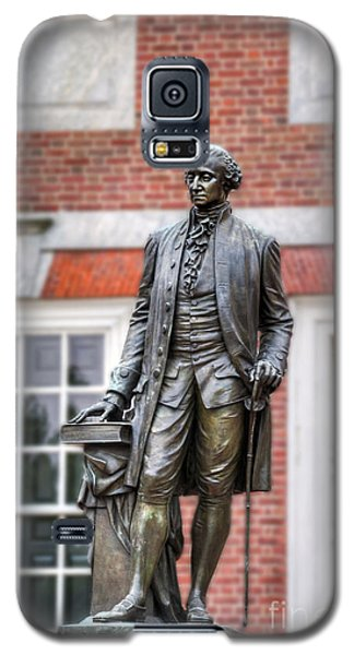 George Washington Statue Galaxy S5 Case by David Zanzinger