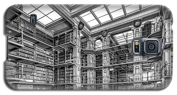 Georgetown University Riggs Library Galaxy S5 Case by University Icons