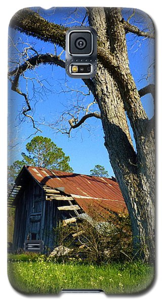 Georgia Barn Galaxy S5 Case by Carla Parris