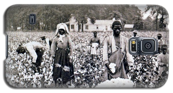 Georgia Cotton Field - C 1898 Galaxy S5 Case
