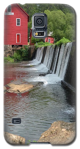 Galaxy S5 Case featuring the photograph Georgia Mill by Margaret Palmer