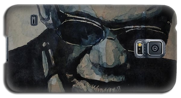 Galaxy S5 Case featuring the painting Georgia On My Mind - Ray Charles  by Paul Lovering
