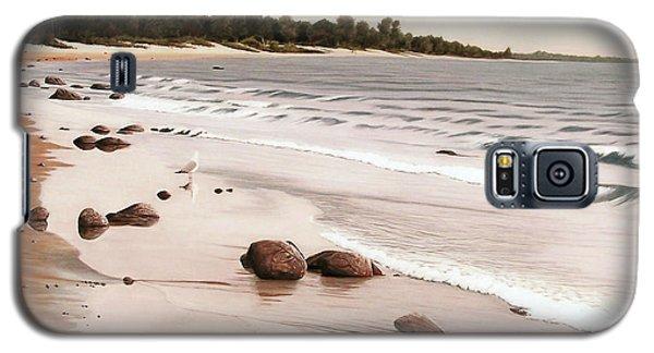 Georgian Bay Beach Galaxy S5 Case