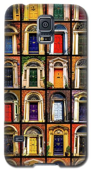 Georgian Doors Of Dublin 3 Galaxy S5 Case by Lexa Harpell
