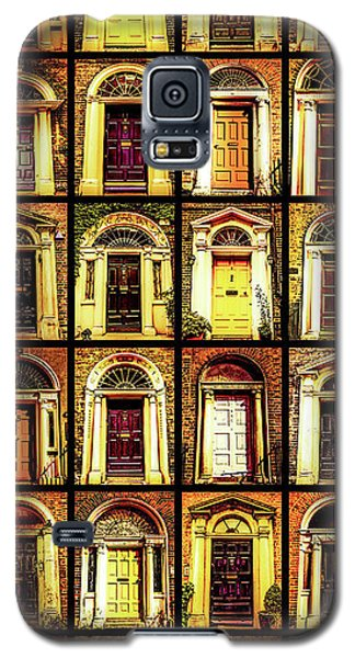 Georgian Doors Of Dublin 4 Galaxy S5 Case