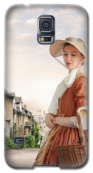 Georgian Period Woman Galaxy S5 Case by Lee Avison