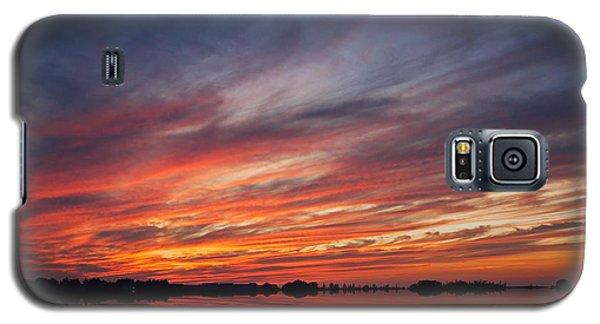 Meditative Sky Galaxy S5 Case