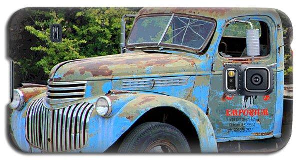 Geraine's Blue Truck Galaxy S5 Case
