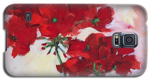 Geranium Galaxy S5 Case