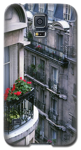 Geraniums - Paris Galaxy S5 Case