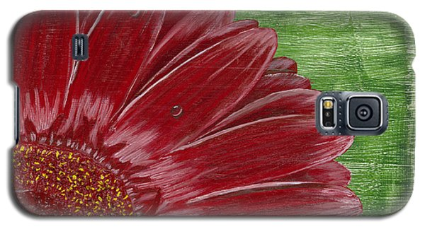 Gerber Daisy- Red Galaxy S5 Case