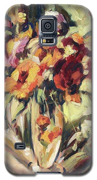 Gerberas In Glass Vase Galaxy S5 Case