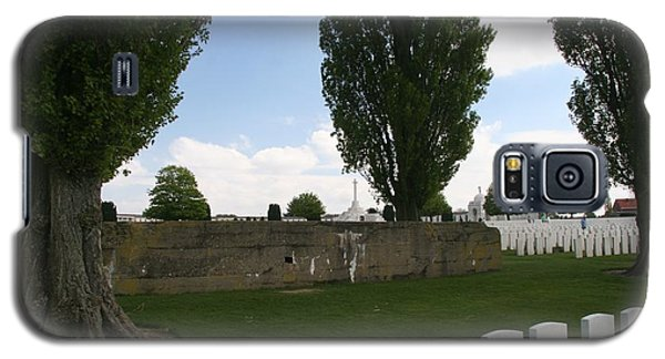 German Bunker At Tyne Cot Cemetery Galaxy S5 Case