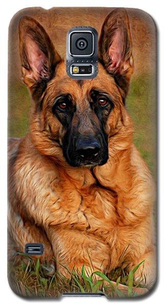 German Shepherd Dog Portrait  Galaxy S5 Case