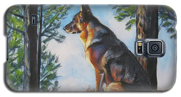 German Shepherd Lookout Galaxy S5 Case