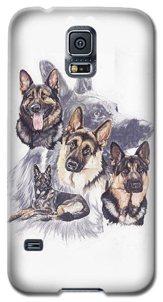 German Shepherd Medley Galaxy S5 Case