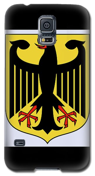 Germany Coat Of Arms Galaxy S5 Case by Movie Poster Prints