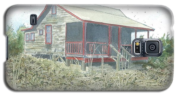 Galaxy S5 Case featuring the painting Get Away Cottage by Joel Deutsch