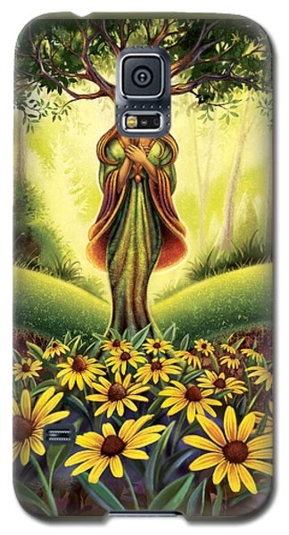 Get Grounded - Black Eyed Susan Galaxy S5 Case