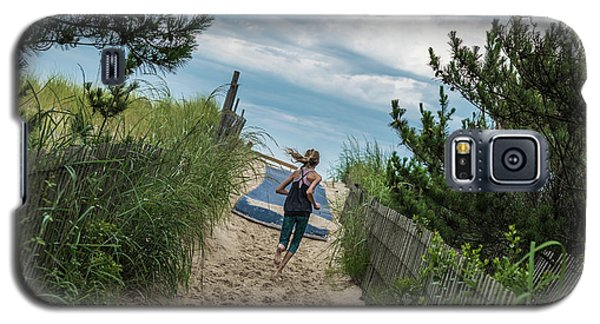 Get To The Beach Galaxy S5 Case
