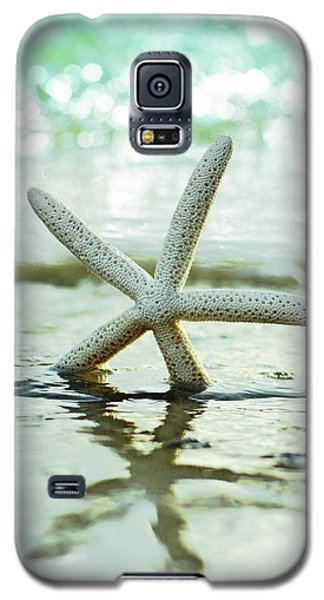 Galaxy S5 Case featuring the photograph Get Your Feet Wet by Laura Fasulo