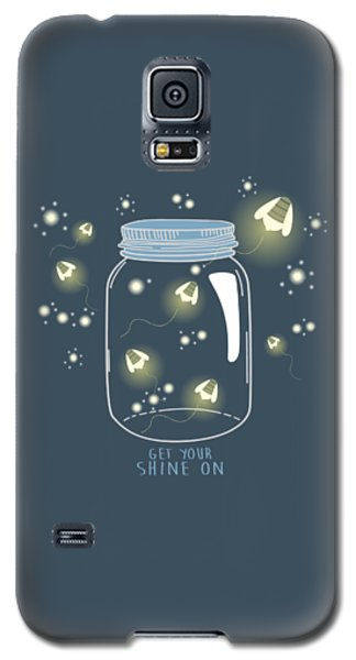 Get Your Shine On Galaxy S5 Case by Heather Applegate