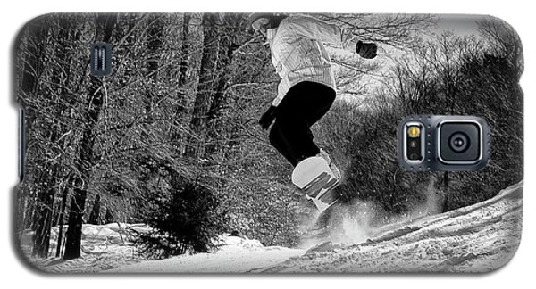 Galaxy S5 Case featuring the photograph Getting Air On The Snowboard by David Patterson