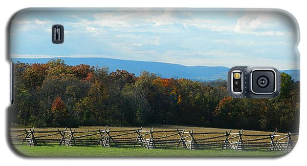 Galaxy S5 Case featuring the photograph Gettysburg Battlefield And Beyond by Emmy Marie Vickers