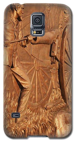 Gettysburg Bronze Relief Galaxy S5 Case by Eric  Schiabor
