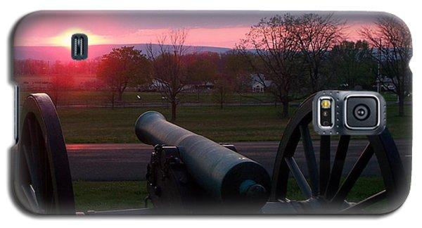 Gettysburg Cannon Galaxy S5 Case by Eric  Schiabor