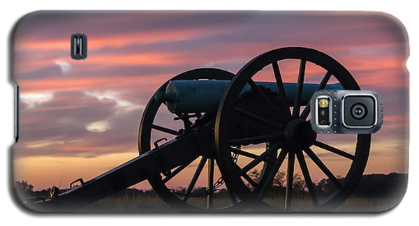 Gettysburg - Cannon On Cemetery Ridge At First Light Galaxy S5 Case