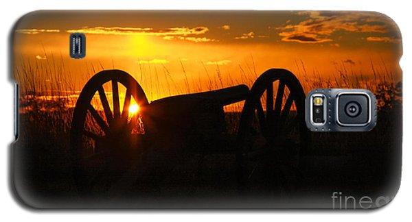 Gettysburg Cannon Sunset Galaxy S5 Case by Randy Steele