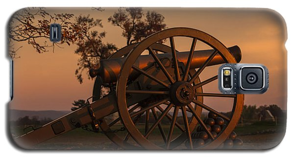 Gettysburg - Cannon With Cannon Balls At Sunrise Galaxy S5 Case