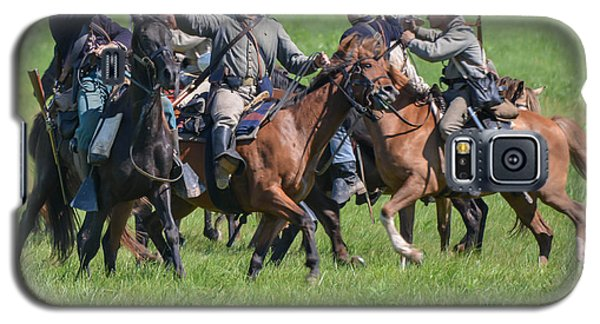 Gettysburg Cavalry Battle 7948c  Galaxy S5 Case