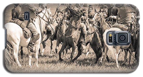 Gettysburg Cavalry Battle 7970s  Galaxy S5 Case