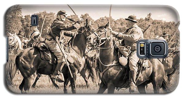 Gettysburg Cavalry Battle 7978s  Galaxy S5 Case