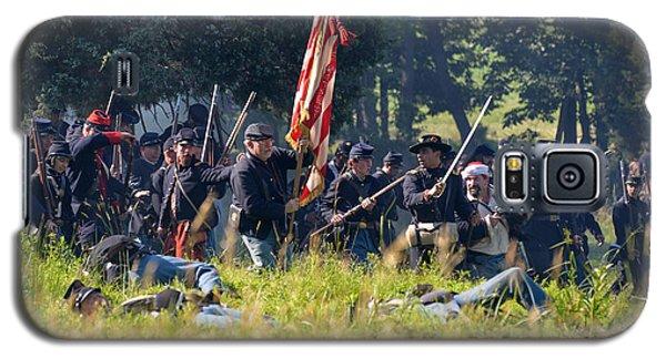Gettysburg Union Infantry 9348c Galaxy S5 Case