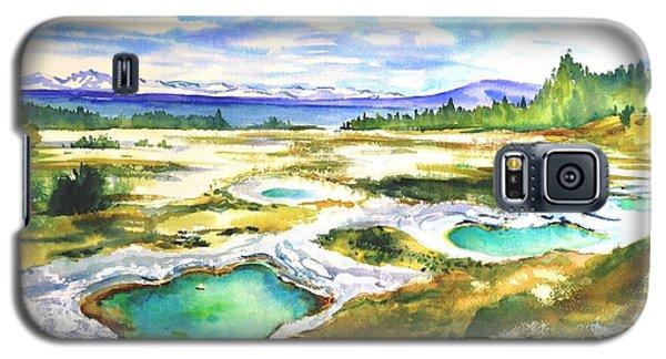 Geyser Basin, Yellowstone Galaxy S5 Case