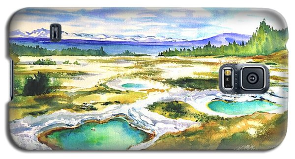 Geyser Basin, Yellowstone Galaxy S5 Case