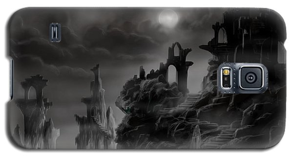 Ghost Castle Galaxy S5 Case by James Christopher Hill