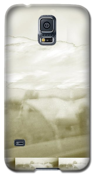 Ghost Horse Colorado Galaxy S5 Case by Ann Tracy