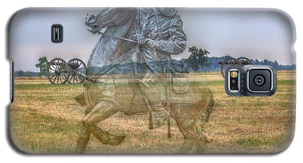 Ghost Of Gettysburg Galaxy S5 Case by Randy Steele