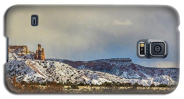 Ghost Ranch In Winter Galaxy S5 Case