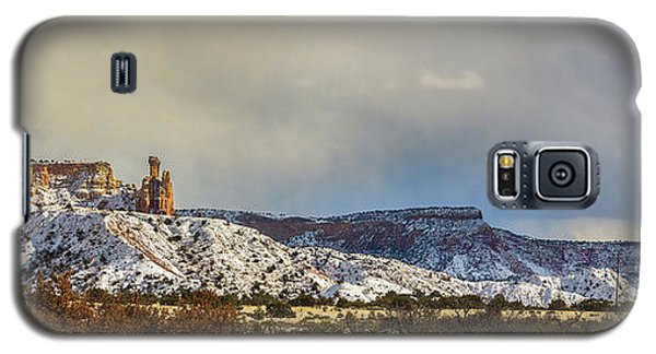Ghost Ranch In Winter Galaxy S5 Case