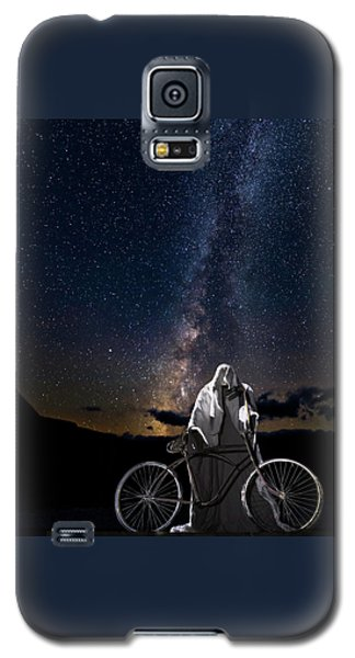 Ghost Rider Under The Milky Way. Galaxy S5 Case