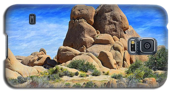 Galaxy S5 Case featuring the photograph Ghost Rock - Joshua Tree National Park by Glenn McCarthy Art and Photography