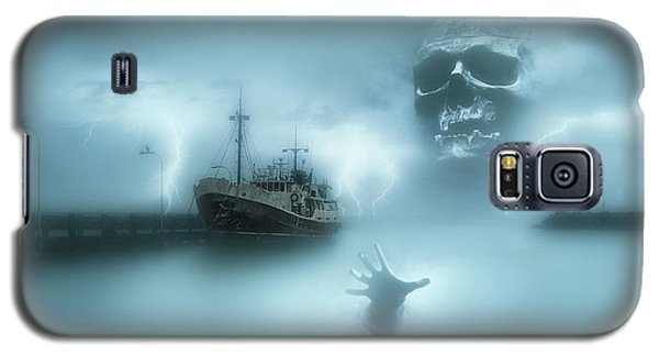 Ghost Ship 0002 Galaxy S5 Case