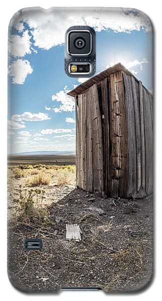 Ghost Town Outhouse Galaxy S5 Case